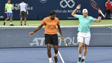 Paris Open 2019: Rohan Bopanna and Denis Shapovalov Enter Quarter-Finals of Tennis Tournament