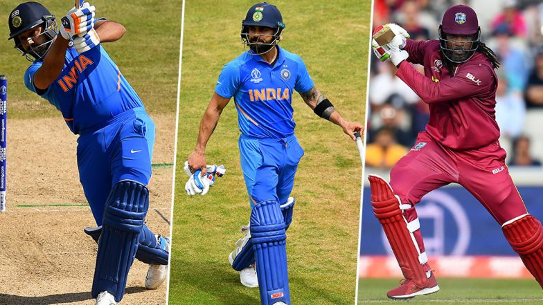 India vs West Indies 1st ODI 2019: Rohit Sharma, Virat Kohli, Chris Gayle and Other Players to Watch Out for at Guyana