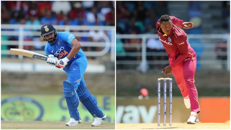 India vs West Indies 3rd ODI 2019: Rohit Sharma vs Sheldon Cottrell and Other Exciting Mini Battles to Watch Out for in Trinidad