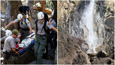 Yosemite National Park Official Warns Tourists After Romanian Traveller Slips and Falls to Death From Waterfall in California