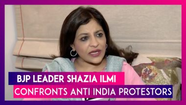 Shazia Ilmi Confronts Pakistani Protestors, Says Important To Protest If Insulted As An Indian