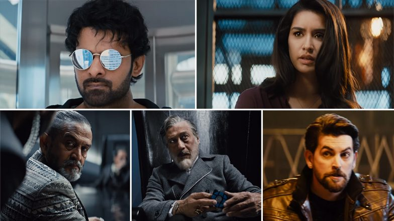 Saaho Trailer: Prabhas and Shraddha Kapoor Starrer Is High on Action and Power-Packed Dialogues (Watch Video)