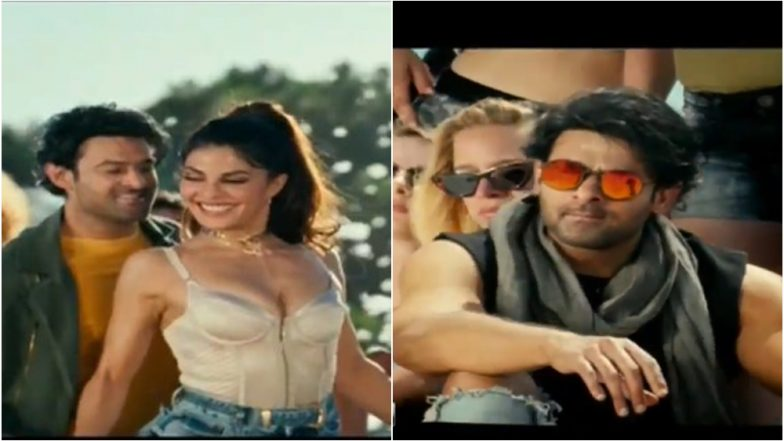 Saaho: Here's the First Glimpse of Jacqueline Fernandez's Bad Boy Song from Prabhas and Shraddha Kapoor Starrer Launched at the Pre-Release Event