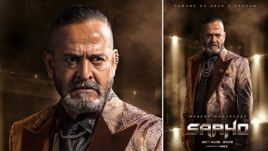 Saaho: Mahesh Manjrekar Looks Determined to Wreak Havoc in Prabhas and Shraddha Kapoor's Lives (View Pic)