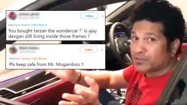 Sachin Tendulkar Demonstrate Driverless Car Parking With 'Mr India'; Fans Come Up With Funny Memes and Jokes on the Cricket God