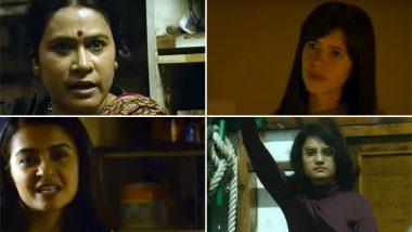 Badass Women of Sacred Games 2: Surveen Chawla, Kalki Koechlin, Amruta Subhash and Shalini Vatsa Have Some Bold Stories to Tell! (Watch Video)