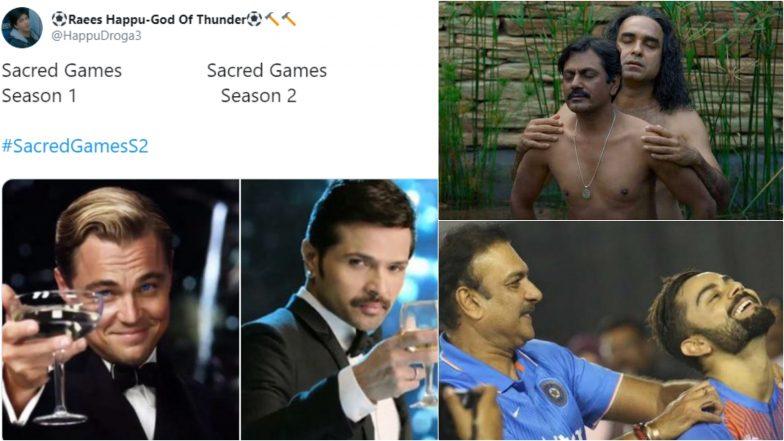 Sacred Games 2 Funny Memes on Guruji-Gaitonde's Sex Scene aka 'Guruji Ka Pyaar' and Jokes on Disappointing Season 2 Ending by Netflix Are Too Good To Miss