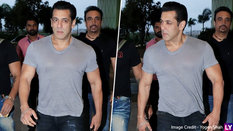 Salman Khan Is Off To Jaipur For Next Dabangg 3 Schedule (View Pics)