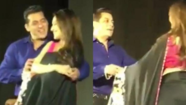 This Video Of Salman Khan And Madhuri Dixit Dancing On Pehla Pyaar At Hum Aapke Hain Koun's 25th Anniversary Celebration Is Everything