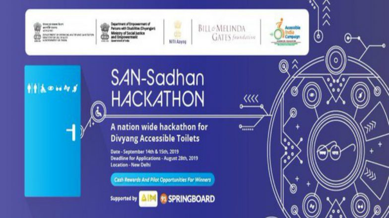 Centre Launches San-Sadhan Hackathon Under Swachh Bharat Mission for Divyang Accessible Toilets