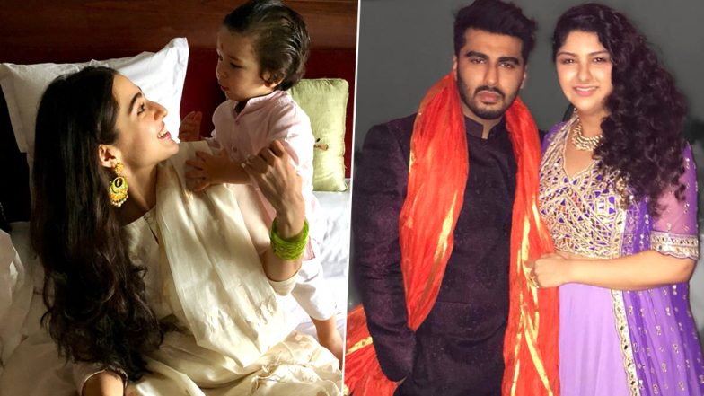Raksha Bandhan 2019: From Sara Ali Khan-Taimur to Arjun Kapoor-Anshula: 5 Bollywood Siblings Who Are Setting Major Brother-Sister Goals!