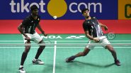 Satwiksairaj Rankireddy & Chirag Shetty Beat Ben Lane and Sean Vendy in Men's Doubles Group Play Stage at Tokyo Olympics 2020, But Fail to Qualify for Quarterfinals