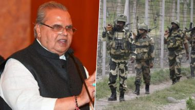 'Leave Kashmir' Advisory: Governor Satya Pal Malik Quashes Claims of Threat to Foreigners, Says 'Security of Tourists Our Responsibility'