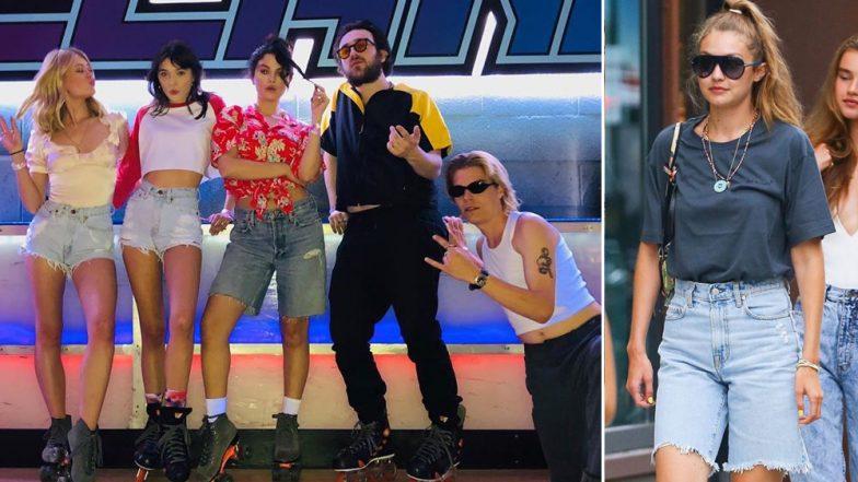 Selena Gomez and Gigi Hadid Bring Denim Golf Shorts Back!