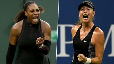 Serena Williams vs Maria Sharapova, US Open 2019 Live Streaming & Match Time in IST: Get Telecast & Free Online Stream Details of First Round Tennis Match in India