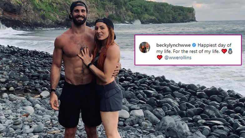 Seth Rollins and Becky Lynch Get Engaged, WWE Raw Women's Champion Confirms News on Instagram With a Romantic Photo of The Couple!