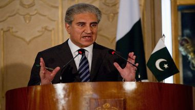 Pakistan FM Shah Mehmood Qureshi Writes Sixth Letter to UN Over Kashmir