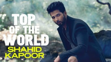 Shahid Kapoor is Dripping Hotness on Latest Magazine Cover; See His All-Black Avatar That Will Make Women Drool Over Him