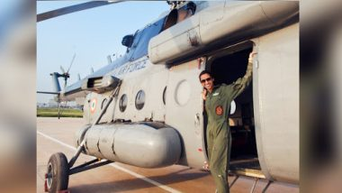 Shaliza Dhami Becomes First Woman Flight Commander of IAF's Chetak Helicopter Unit