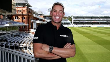 Shane Warne Made Coach of Lord's Based Team for Inaugural Edition of 'The Hundred' Cricket Tournament