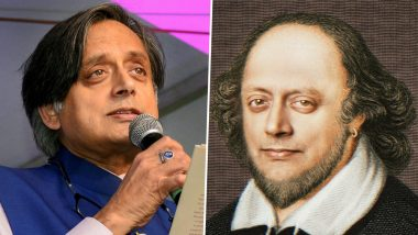 Shashi Tharoor Shares Morphed Photo of His Shakespeare Avatar Saying He is 'Unworthy of the Honour', Twitterati Left in Splits!