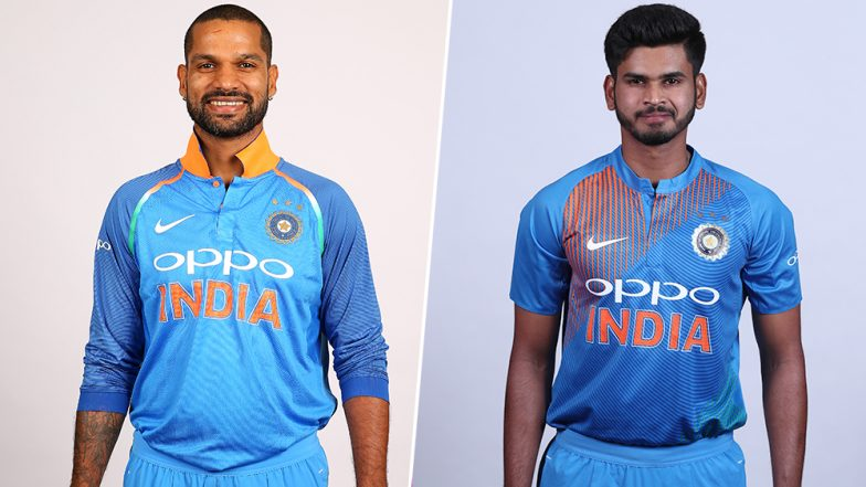 Shikhar Dhawan and Shreyas Iyer Take Speak Out Challenge Ahead of India vs West Indies 2019 1st ODI; Watch Hilarious Video Shared by BCCI
