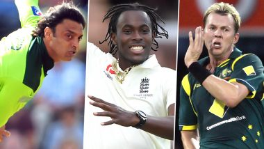 Jofra Archer's Bouncer Got Steve Smith Out of Third Ashes Test: Here's a List of Most-Feared Fast Bowlers in The History of Cricket