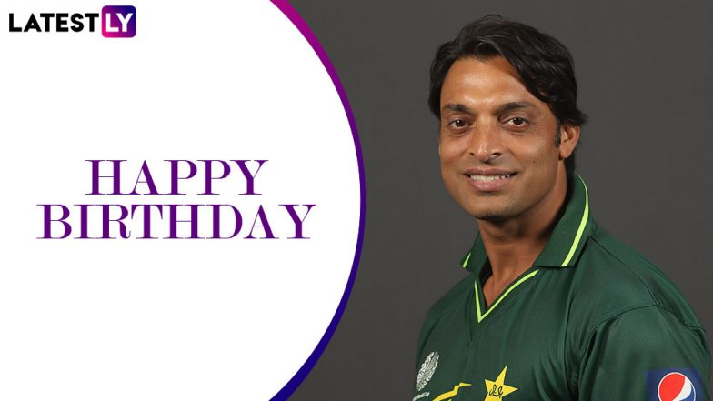 Happy Birthday Shoaib Akhtar! A Look At the 5 Greatest Spells By the 'Rawalpindi Express'