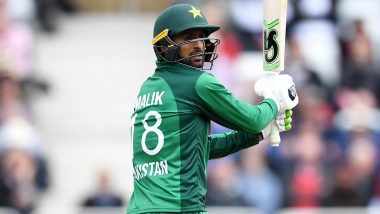 Shoaib Malik Hits Two Glass-Breaking Sixes During Vancouver Knights vs Brampton Wolves GT20 Canada 2019 Match (Watch Video)