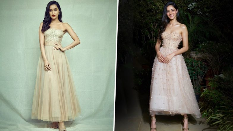 Fashion Face-Off: Shraddha Kapoor or Ananya Panday - Who Nailed this Reem Acra Corset Dress Better? Vote Now