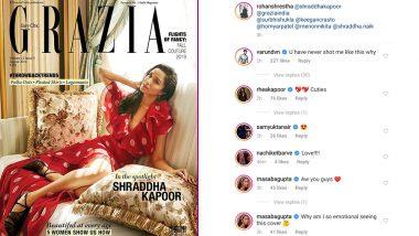 Shraddha Kapoor Poses For Rumoured Boyfriend Rohan Shrestha on Grazia Magazine Cover, Varun Dhawan And Masaba Gupta Almost Confirm Their Relationship!