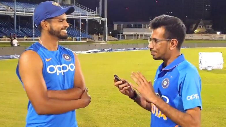 Shreyas Iyer Makes Debut on Chahal TV; From Diet to Taking 'Badla' on West Indies Spinners, the Young Batsman Reveals It All! (Watch Video)