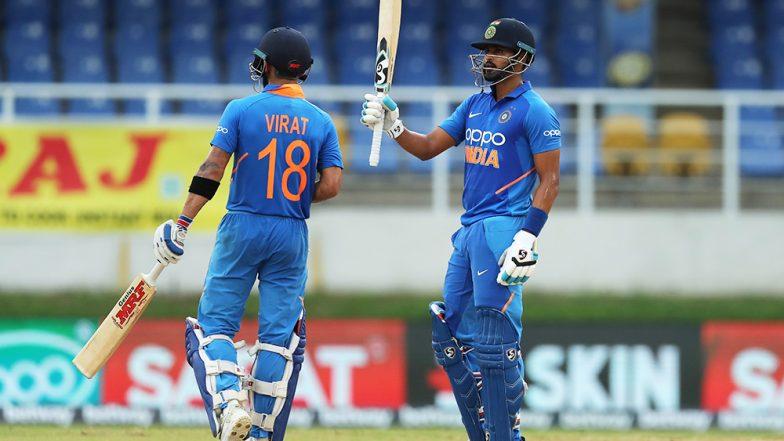 Virat Kohli Praises Shreyas Iyer After India's Victory in 3rd ODI Against West Indies, Says Iyer Was Brave Under Pressure