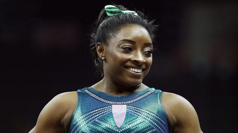Simone Biles Becomes the First Gymnast to Perform Double-Double Dismount, Achieved This Feat During 2019 US Gymnastics Championships (Watch Video)