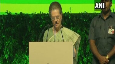Sonia Gandhi Attacks Modi Government, Says 'Rajiv Gandhi Never Used Power to Destroy Freedom of People'