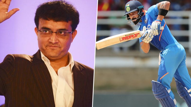 Sourav Ganguly Hails Virat Kohli After His Match-Winning Hundred in Second ODI Against West Indies, Says 'What a Player' (See Tweet)
