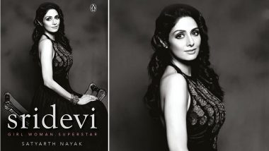 On Sridevi's 56th Birth Anniversary, Vidya Balan Launches the Cover of Book Based on the Iconic Actress' Life