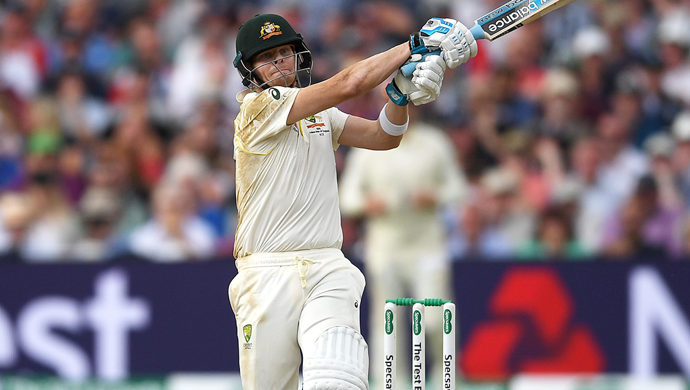 Steve Smith Dismissed For a Duck By a US-Based Bowler Cameron Gannon During Queensland vs New South Wales, Marsh Sheffield Shield 2019 (Watch Video)