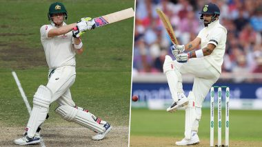 ICC Test Rankings Latest: Steve Smith Jumps to No. 2 Spot Post Brilliant Batting in Ashes 2019, Virat Kohli Retains Top Position