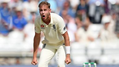 Stuart Broad Urges Umpire to Reverse Decision on Stump Mic During England vs Australia Ashes 2019 3rd Test, Netizens Can't Stop Laughing (Watch Video)