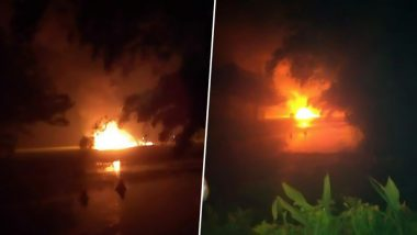 Sukhoi Su-30 Aircraft Crashes in Tezpur, Assam; Indian Air Force (IAF) Confirms Both Pilots Ejected Safely