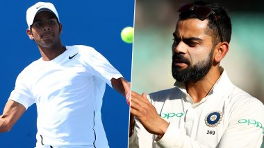 Virat Kohli Wishes Good Luck to Sumit Nagal Ahead of Indian Tennis Player's Match Against Roger Federer in US Open 2019 (See Instagram Post)