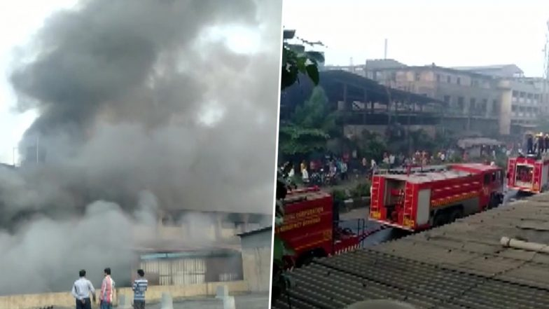 Surat: Fire Erupts at Mayur Silk Mills, 18 Fire Tenders Rush to Spot