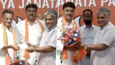 Sanjay Seth and Surendra Singh Nagar, Ex-SP MPs Join BJP