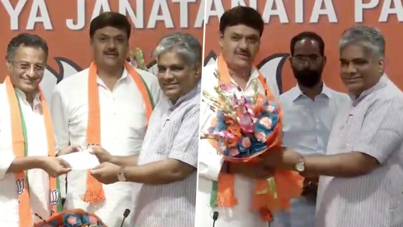 Sanjay Seth and Surendra Singh Nagar, Ex-SP MPs Join BJP