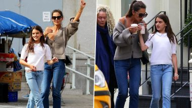 After Split with Jamie Foxx, Katie Holmes Spends Quality Time with Her Daughter Suri