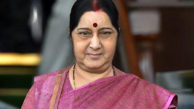 Sushma Swaraj Dies at 67: BJP Leaders Condole Party Veteran's Death, Remember Her as 'Peoples Minister'