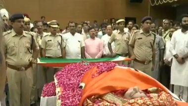 Sushma Swaraj Funeral Highlights: Veteran BJP Leader Cremated With Full State Honours