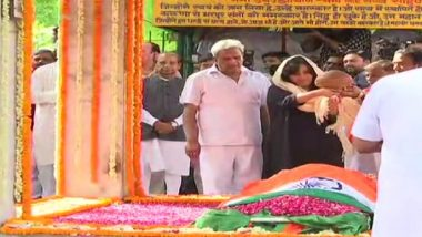 Sushma Swaraj Cremated With Full State Honours, Daughter Bansuri Performs Last Rites; Thousands Bid Teary-Eyed Farewell to 'People's Minister'
