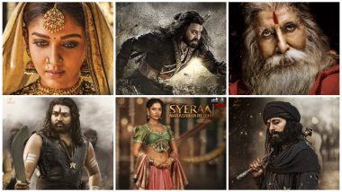 Sye Raa Narasimha Reddy New Character Posters: From Amitabh Bachchan to Nayanthara, Meet The Warriors of Sye Raa in the Chiranjeevi-Starrer - View Pics